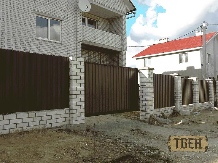 Ворота и забор СМ-07