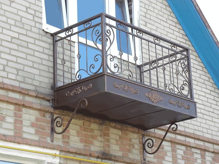 Балконное ограждение БО-16