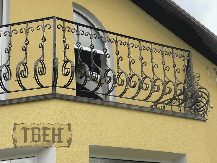 Балконное ограждение БО-04