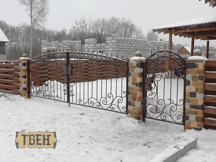 Ворота и калитка ВК-23