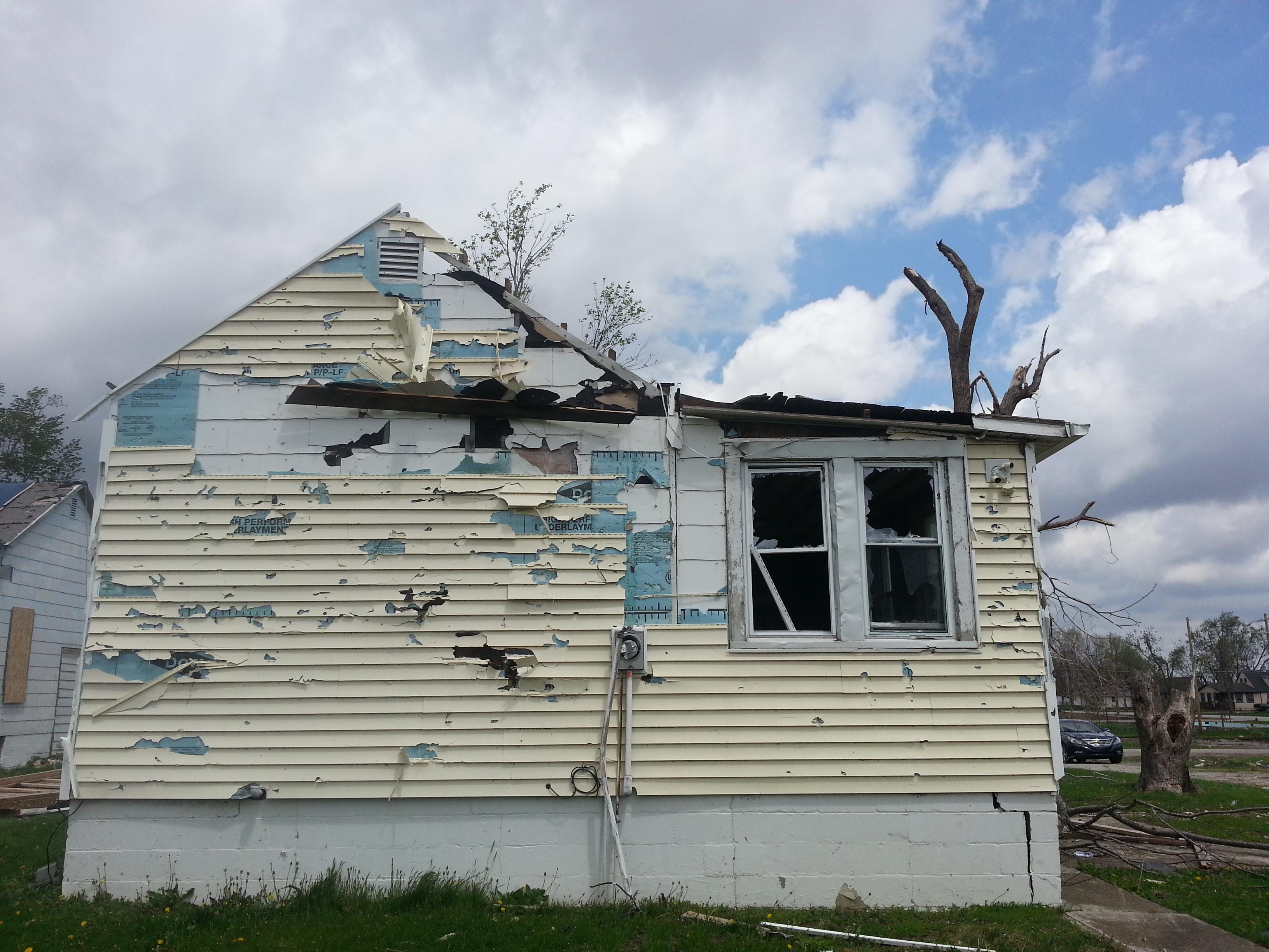 Residence - Tornado Damage