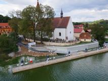 Přístaviště na Vltavě u Českých Budějovic hlásí hotovo
