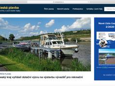 Nový web o plavbě