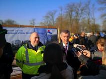 Předseda vlády zahájil výstavbu rekreačního přístavu Veselí nad Moravou