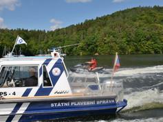 Na Slapech v létě výrazně zpomalí lodě, Státní plavební správa reaguje na velký nárůst rekreace