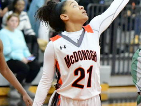 McDonogh's Jacobs becomes first 2017 female honoree