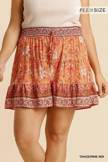 Tangerine Dream Drawstring shorts