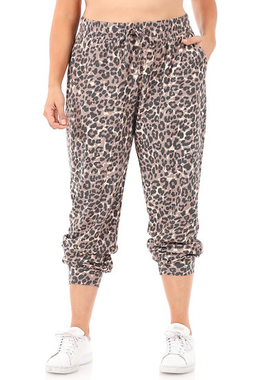 Leopard Joggers Plus