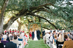 Ceremony under the Sloping Oak