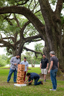 Lawn Games Under the Oaks