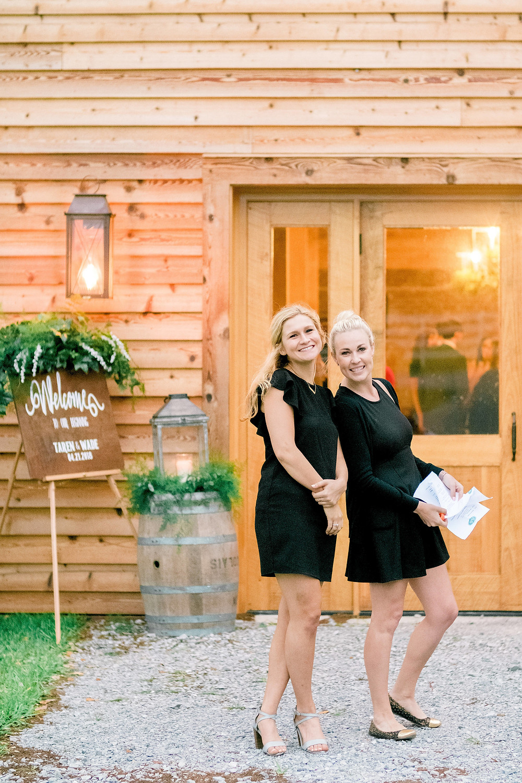 Natasha and Shelby, Stella Plantation's day-of-wedding coordinators