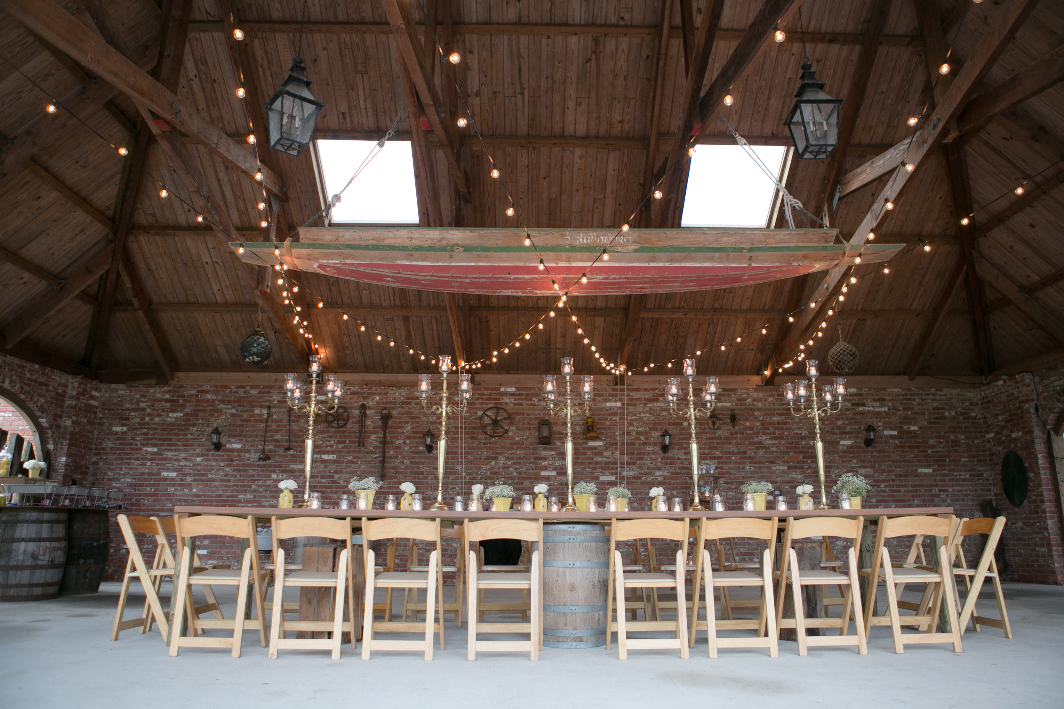 Reception in the Carriage House