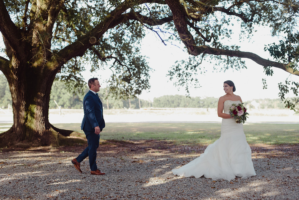 Southern wedding at Stella Plantation
