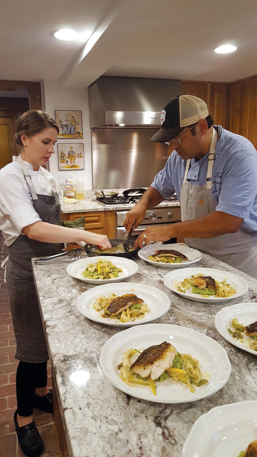 Louisiana Executive chef cuisine