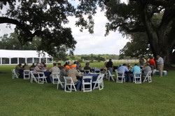 Lunch Under the Oaks