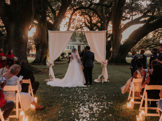 Sunset New Orleans Wedding at Stella