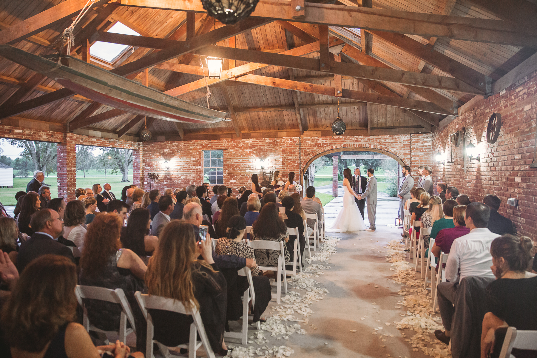 Ceremony in the Carriage House