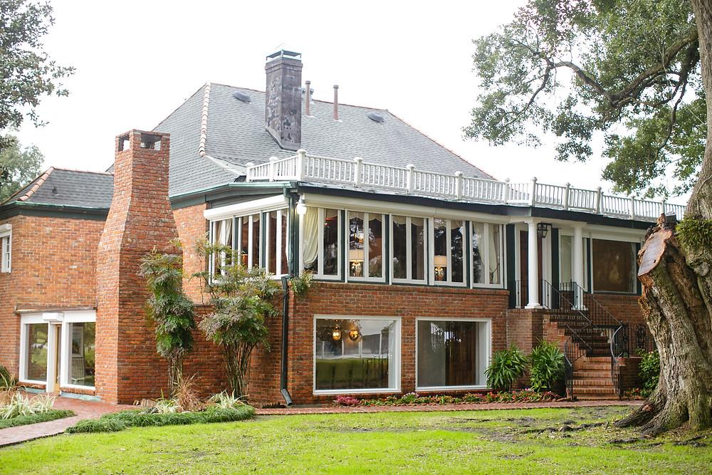 Back of the Main House at Stella Plantation