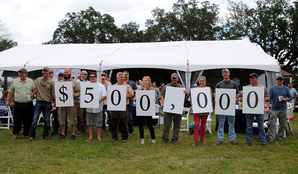 Gunning For A Cure has raised over a half-million dollars!