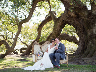 "Rachael & Joshua's ""Swampy Chic"" Wedding"