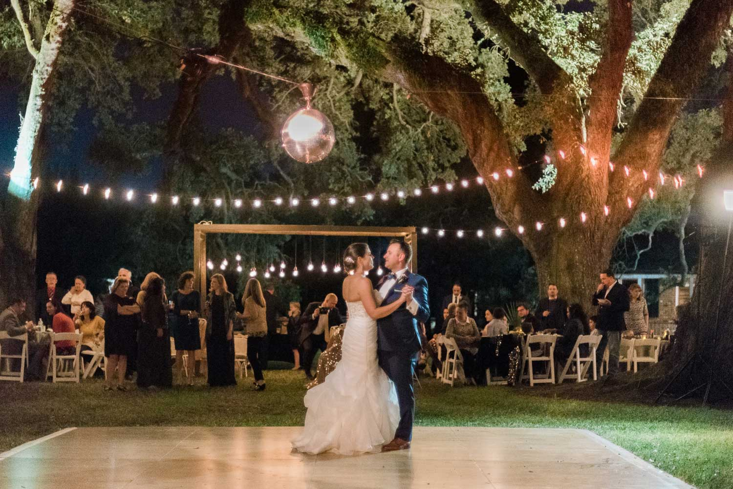 Disco Ball Under The Oaks