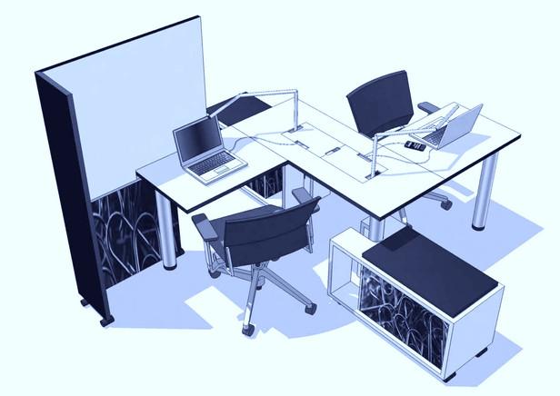 Tetris Desking System