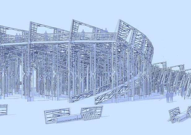 Burning Man Temple Design