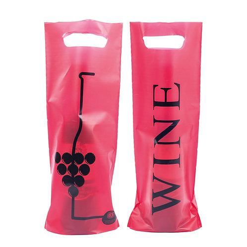 PORTABOTTIGLIA WINE PLASTICA TRASPARENTE 1 POSTO