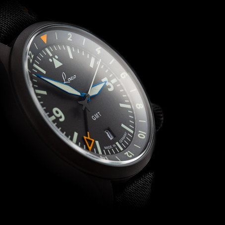 Form and Function: The Laco Frankfurt GMT Schwarz Wins Red Dot Award 2020
