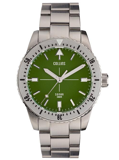 Collins Watch Company - Sonar Green