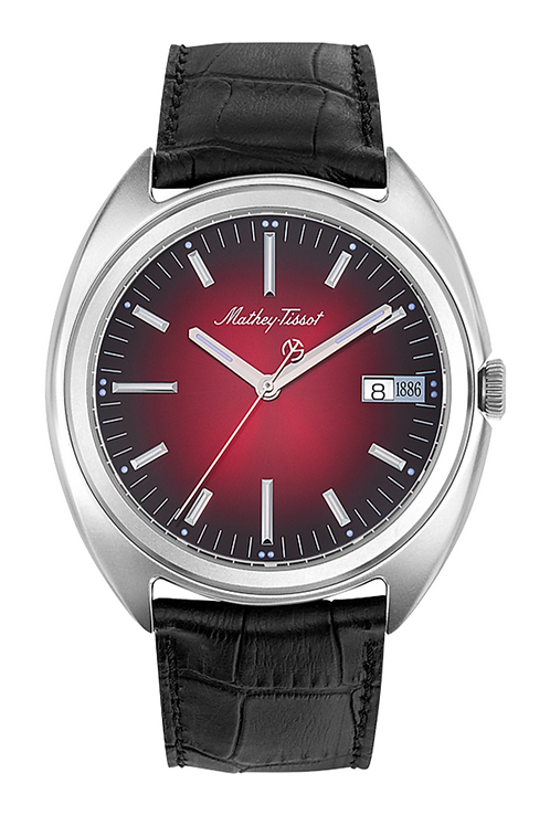 "Mathey-Tissot ""Eric Giroud"" 1886 Automatic - Red"