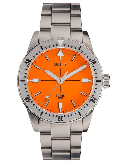 Collins Watch Company - Sonar Orange