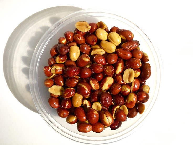 Spicy Peanuts 8 oz. tub