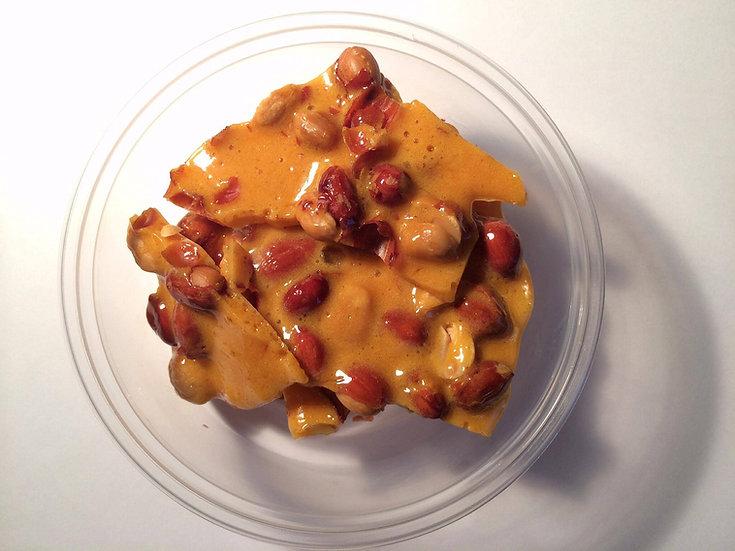 Spicy Peanut Brittle 4 oz. tub