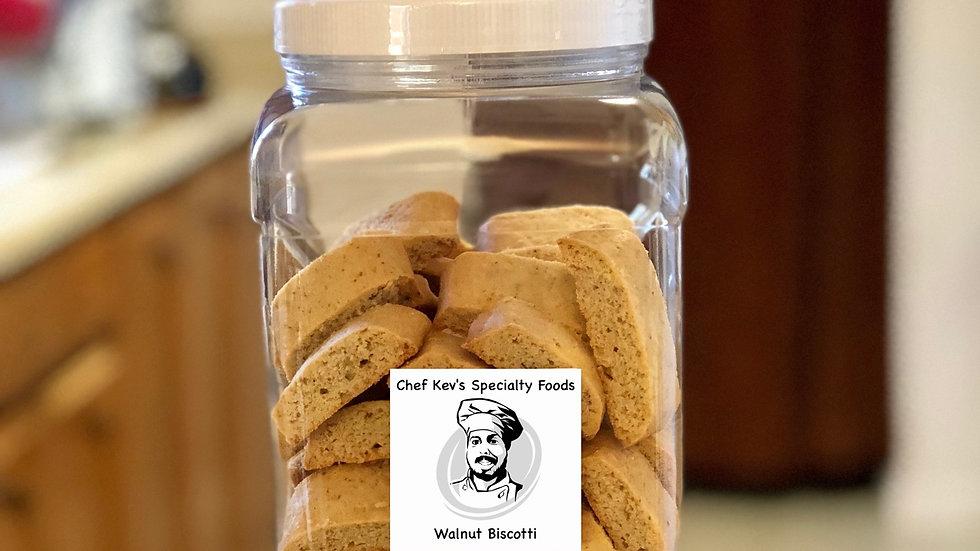 Walnut Biscotti - 1.5 lb.