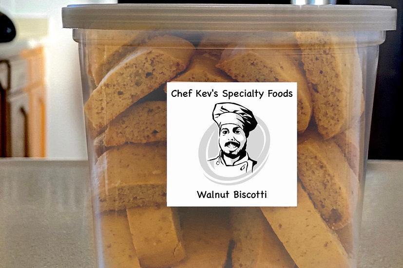 Walnut Biscotti - tub - Wholesale