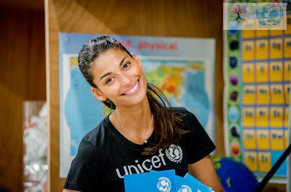 Tatiana Silva, Unicef Belgium Ambassador