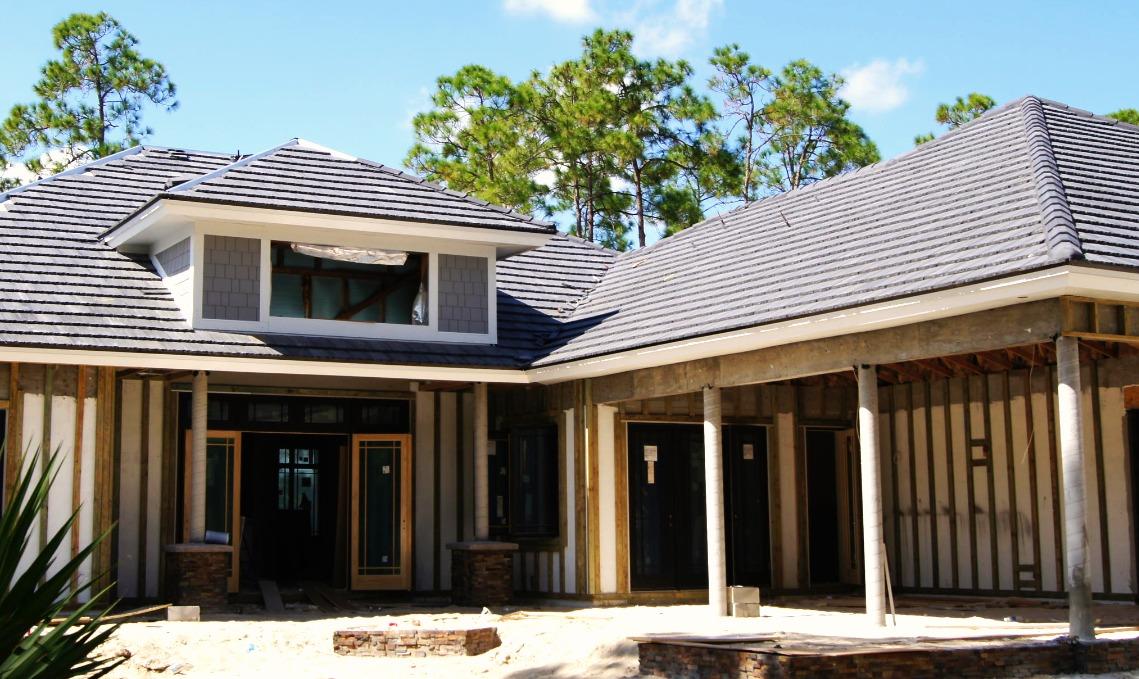 Flat Concrete Tile Roofing