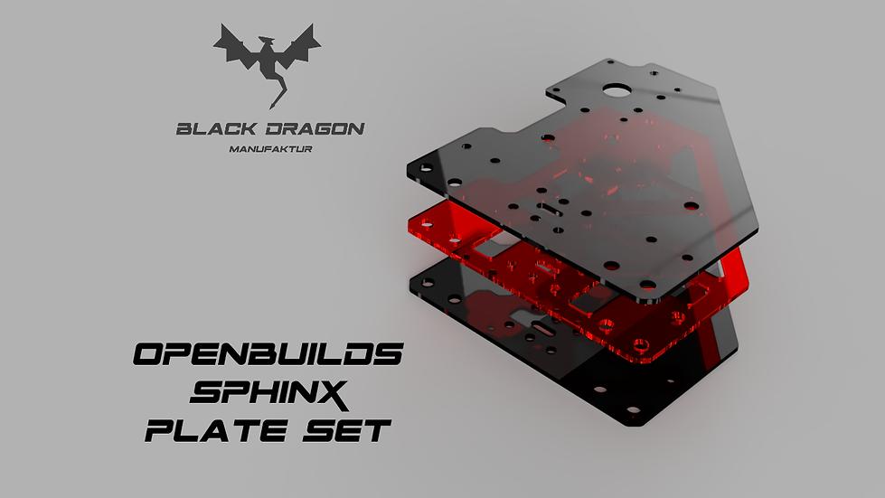 OpenBuilds Sphinx CNC Platten Set