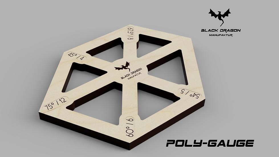 Angle setting gauge poly gauge