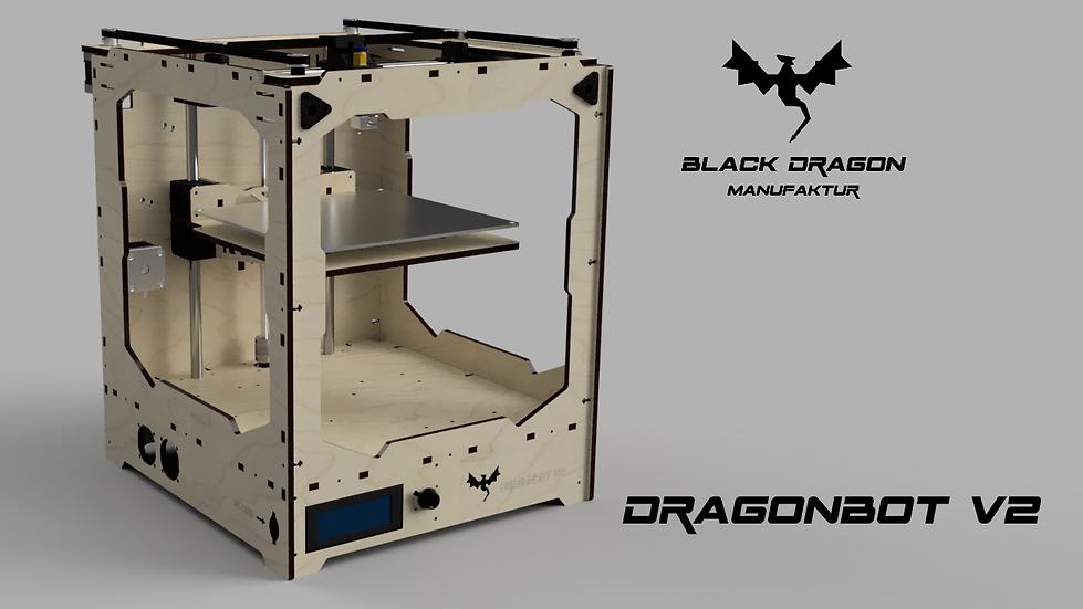 3D Drucker DragonBot v2