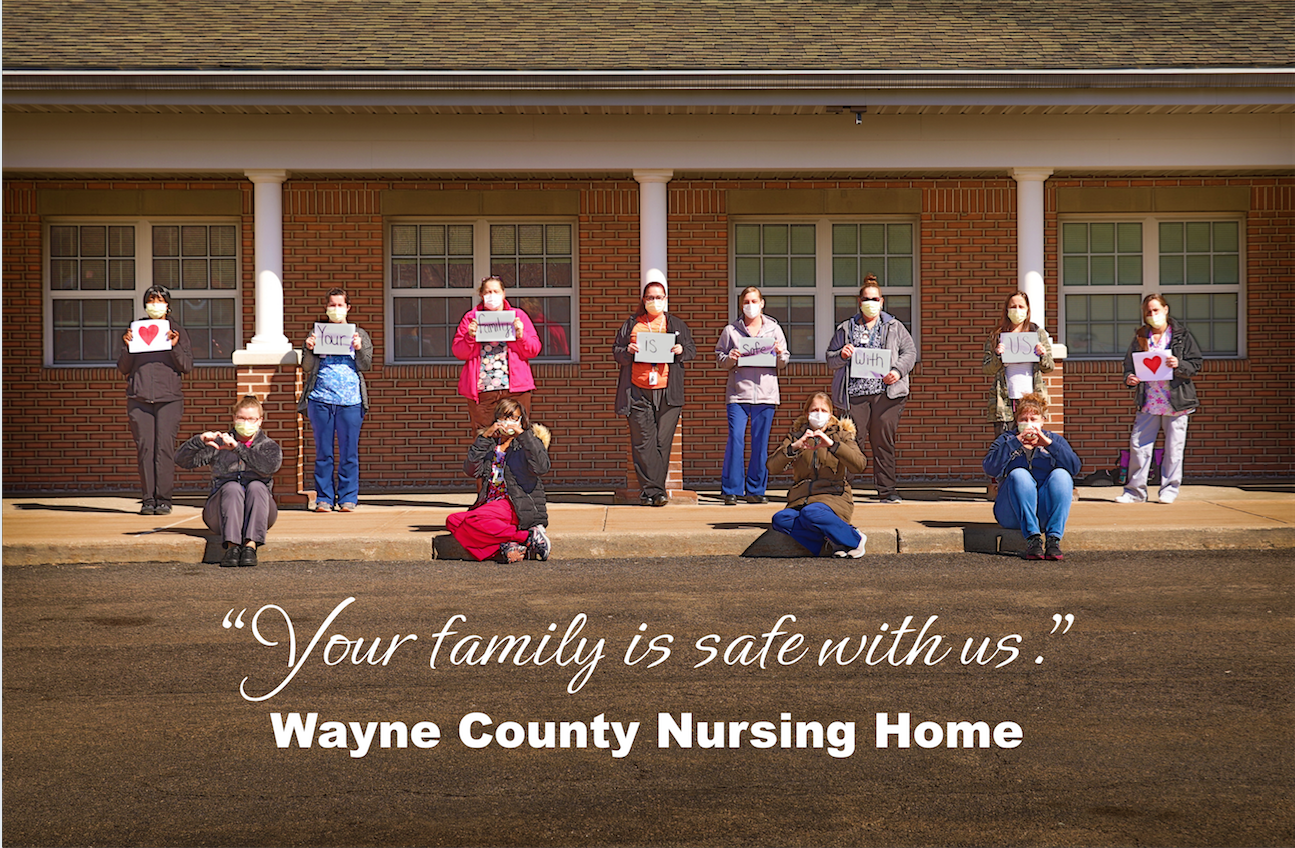 Frontline Workers at the Wayne County Nursing Home