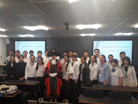 August 19: Bristol Lord Mayor meets Yo-Yo School Exchange Students at UWE