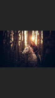 Un shooting photo dans les bois de Versoix