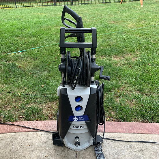 AR Blue 1800 psi Electric Pressure Washer