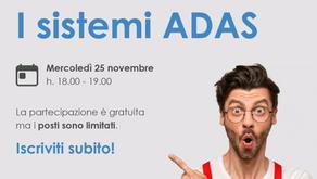 WEBINAR ADAS, 25 Novembre 2020