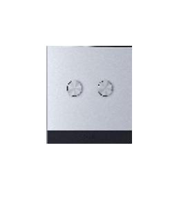 Orvibo-ZigBee ON/OFF Switch(CN type, 2 Gang neutral 100- 240V) grey aluminium