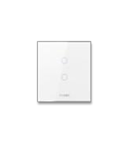 Orvibo-ZigBee ON/OFF Switch(CN type,2 Gang neutral 100-240V) glass panel
