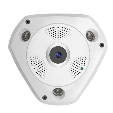 3MP Fisheye 360° Indoor WiFi IP Camera