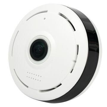 Fisheye 360 Degree Panorama 1080P HD Wi-Fi IP Camera
